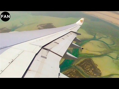 Etihad Airways A340-600 Stunning Takeoff from Abu Dhabi Airport!