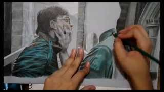 Harry Potter / Lord Voldemort (speed drawing)