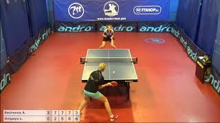 Настольный теннис матч 220918  2 Смирнова Анна Долгая Лилиана
