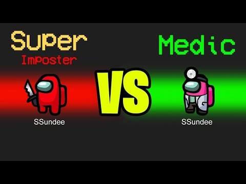 MEDIC vs SUPER IMPOSTER in Among Us
