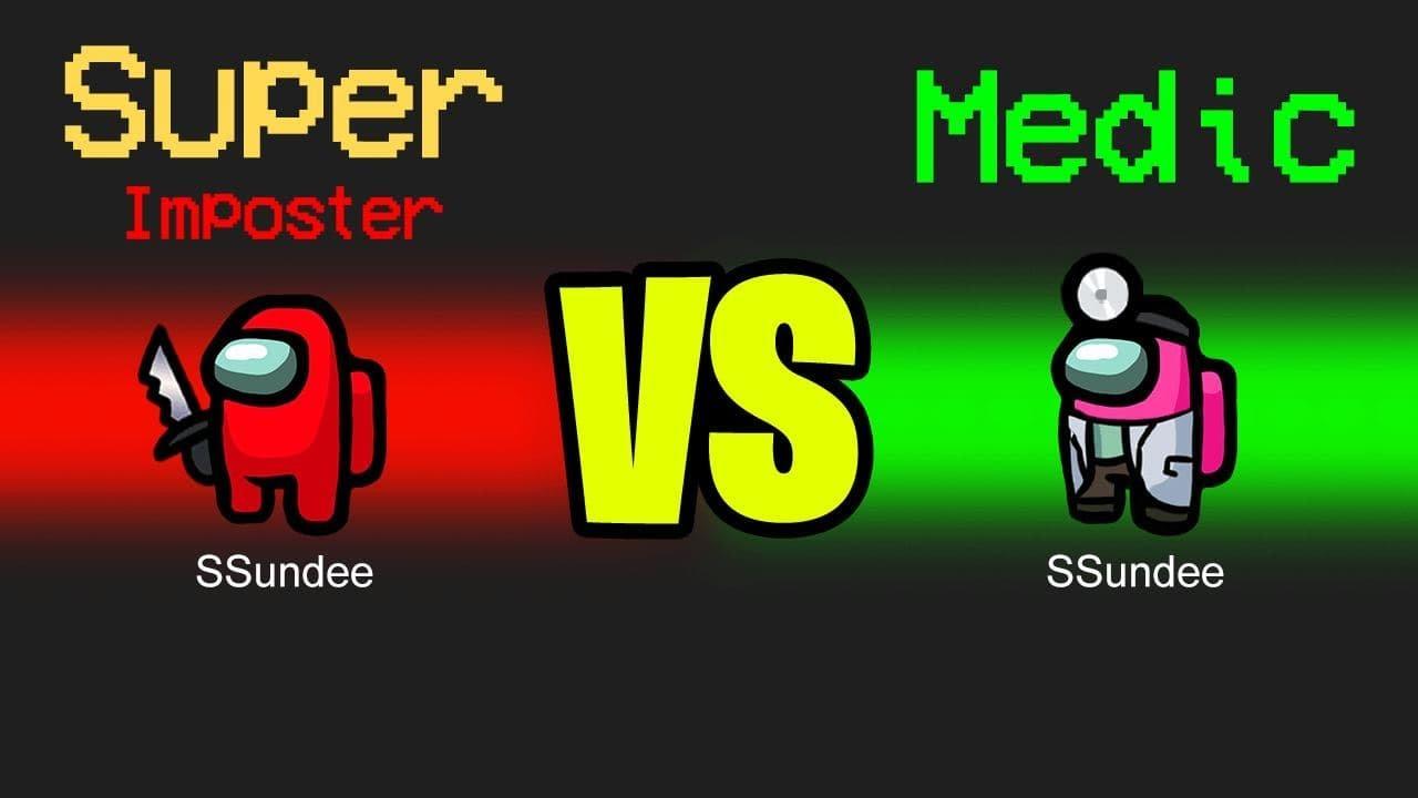 Download MEDIC vs SUPER IMPOSTER in Among Us