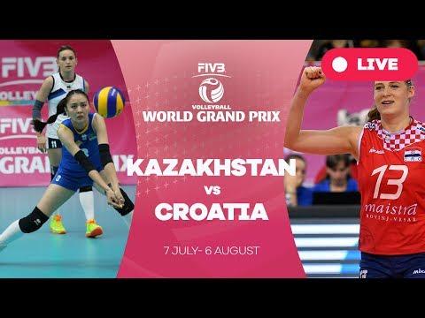 Kazakhstan v Croatia - Group 2: 2017 FIVB Volleyball World Grand Prix