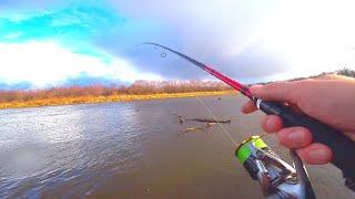 СМЕНИЛ ПРИМАНКУ и сразу поймал но не ту рыбу рыбалка на джиг Ловля щуки и судака на спиннинг