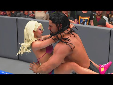 I MADE LOVE TO ALEXA BLISS IN WWE 2K17! MURPHY IS MAD!!!