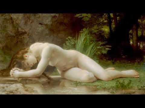 Mozart - Piano Concerto No 4 in G Major, KV 41 Andante (Художник  William Adolphe Bouguereau)