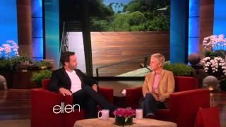 Alex O'Loughlin on Ellen. May 17, 2013