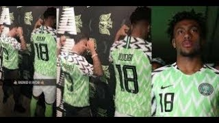 WIZKID And Alex Iwobi Unveils New Super Eagles Jersey From Nike