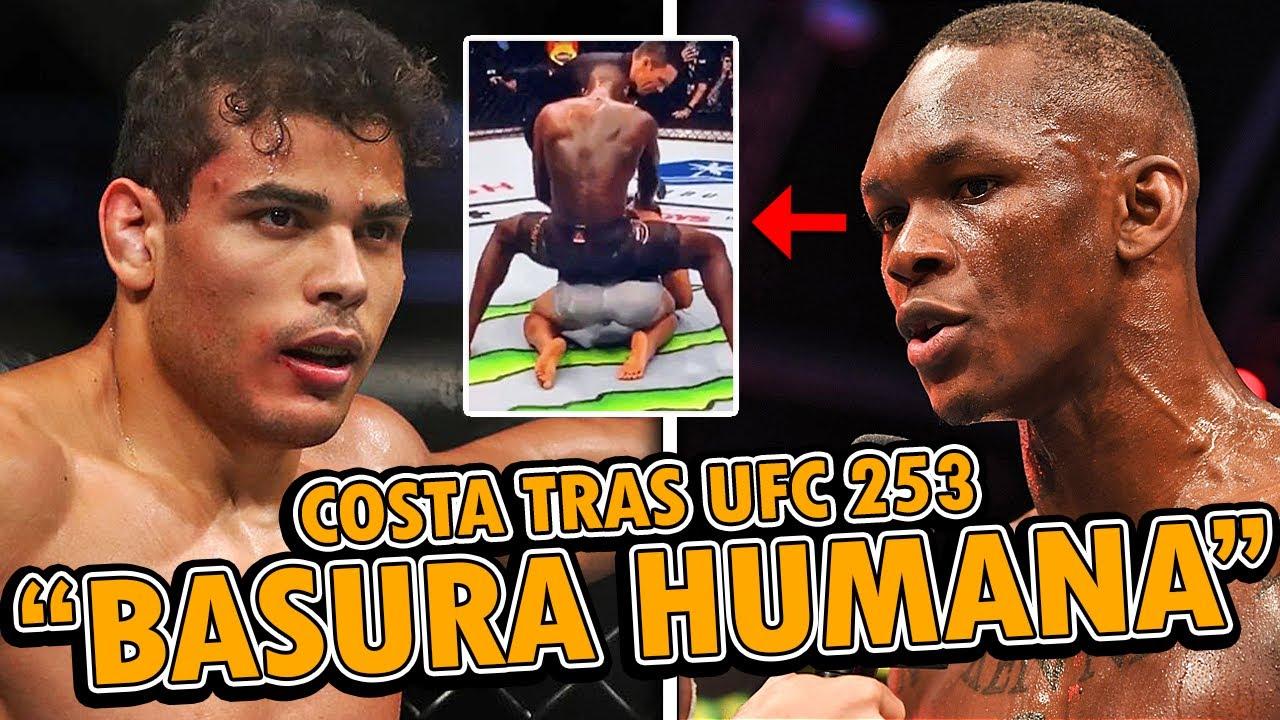 Paulo Costa LANZA FUERTE AMENAZA a Israel Adesanya y ESTE RESPONDE, UFC 253, Jones ATACA a Adesanya