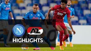 Full Highlights Napoli - AZ | Europa League