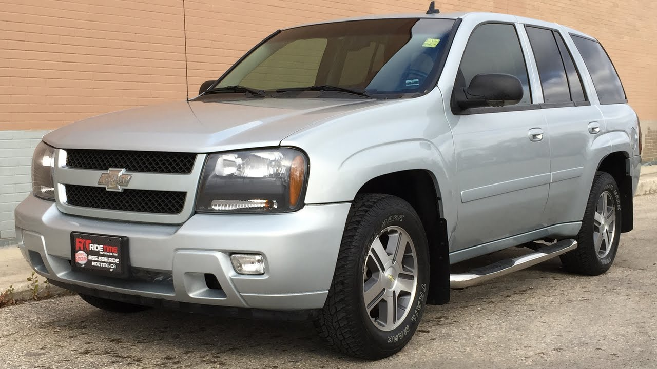 2007 Chevrolet Trailblazer Lt 4wd Leather Moonroof Heated Seats Memory Great Value