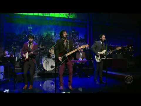 Panic At The Disco -  Nine In The Afternoon (Live David Letterman 2008) (High Quality Video) (HD)
