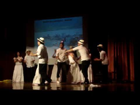 Newcomers High School - Multicultural Show 2009 Baile de guayaquil
