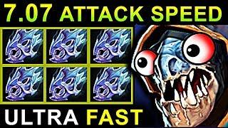 ULTRA FAST ATTACK SPEED SLARK - DOTA 2 PATCH 7.07 NEW META PRO GAMEPLAY