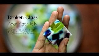 How to make broken glass agar agar Jelly Mp3