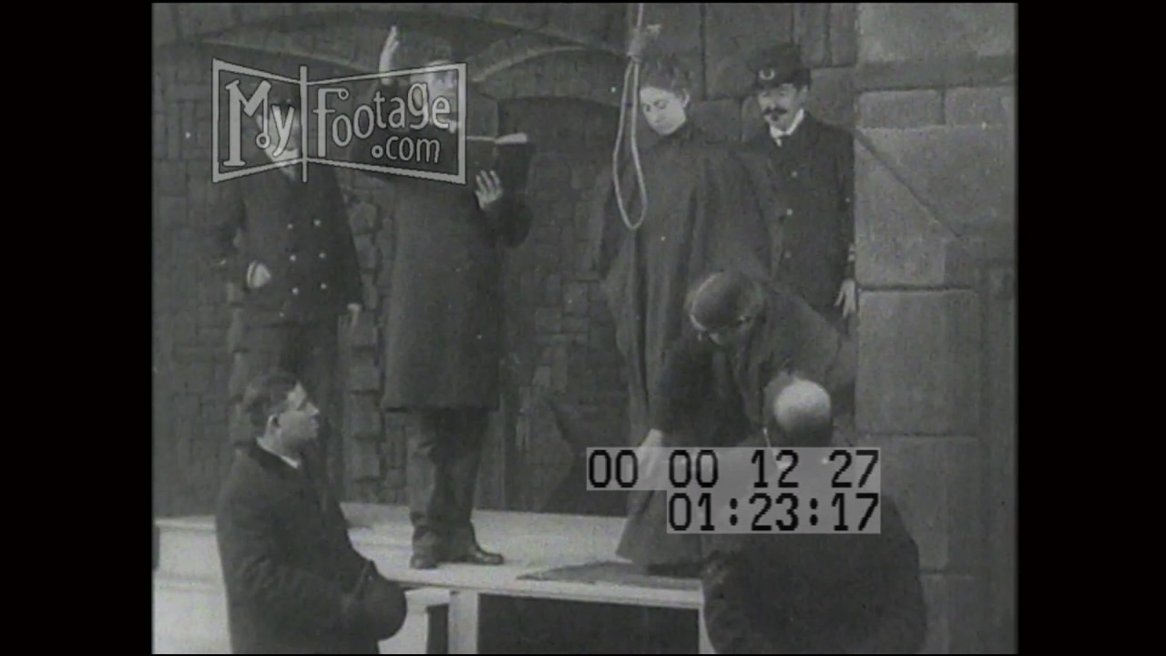 1905 Execution by Hanging - YouTube