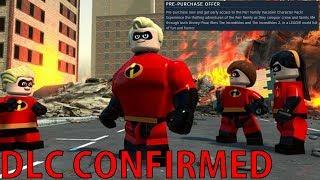 LEGO The Incredibles Video Game - Open World Gameplay Images & DLC Confirmed!