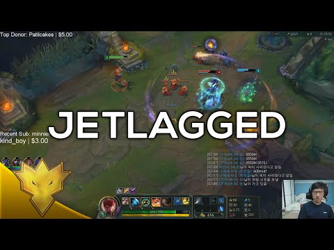 Rush & Jensen - Jetlagged - Korean Duo Queue Funny Moments & Highlights