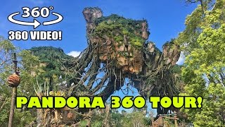Pandora World of Avatar 360 Degree VR Tour Walt Disney World Animal Kingdom