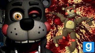 KILLING LEFTY AND ROCKSTAR FREDDY! | FNAF 6 GMOD (Five Nights at Freddy 6 Garys Mod)