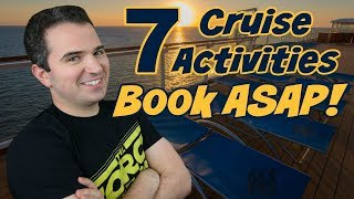 7 Disney Cruise Activities to book ASAP before a Disney Cruise! (They sell out)