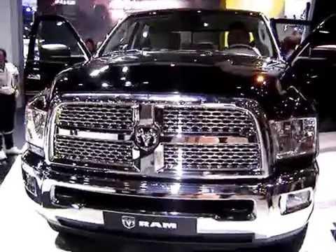 Salão do Automóvel 2014 Caminhonete Ram 2500 Cabine Dupla - YouTube