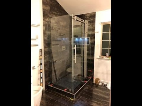 How To Install A Glass Shower Door Dream Line Enigma X