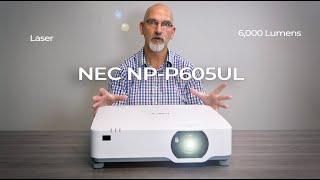 NEC NP-P605UL 6000-Lumen WUXGA…