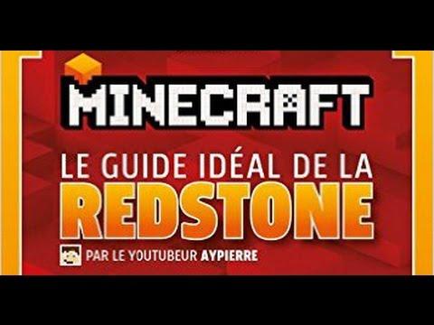 Le Guide Ideal De La Redstone Mon Livre