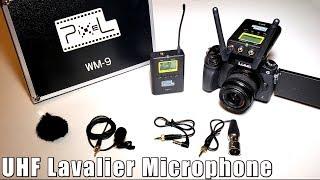 Baixar Pixel 50-Channel UHF Wireless Lavalier Microphone Review - WM-9