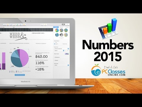 Numbers for Mac 2015