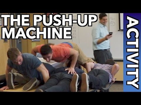 The Push-Up Machine - Labor Market Activity