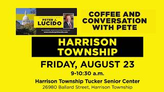 Sen. Lucido to host Coffee Hours on August 23