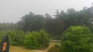 Burza Gubin Dzikowo 2018 31.05
