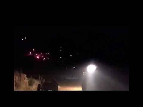 İzli mermi atışı İzli mermi dağı yaktı geçti (!) to shoot with tracked bullets