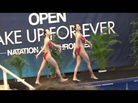 CHINA Hunan Free duet prelim - 2017 Open Make up for ever