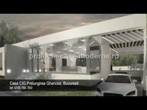 Proiecte case moderne | Model casa CIG Prelungirea Ghencea ...