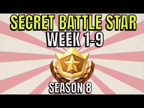 all-fortnite-season-8-secret-battle-star-locations-week-1-to-9---season-8