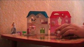 Видео №1 Как играть в домик-открывашку c маленькими зверятами.