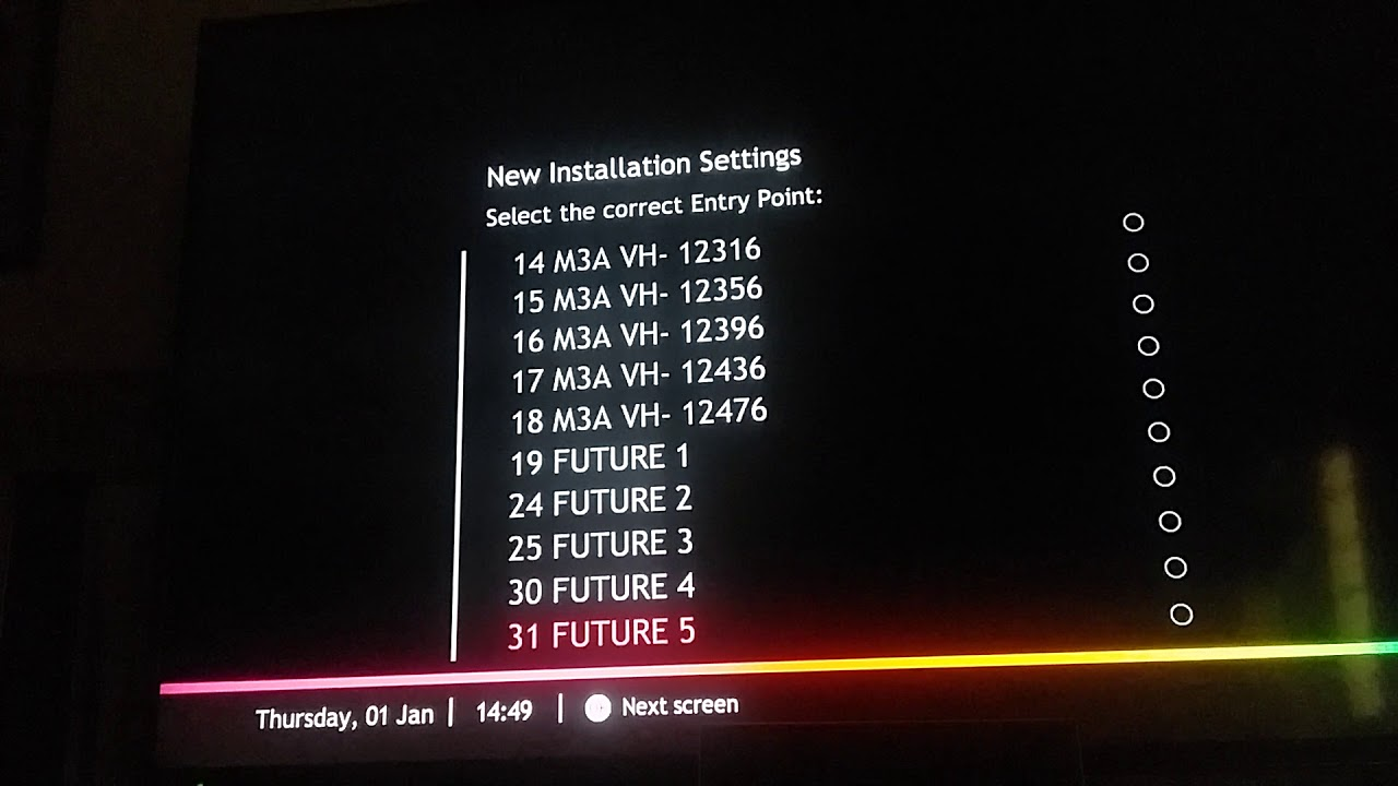 Astro:New Installation Settings Problem (how to fix??)