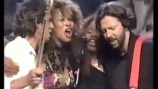 "Keith Richards, Eric Clapton, Tina Turner ""Keep A-Knockin"