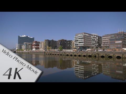 Hamburg, Germany: Hafen, HafenCity - Video 1 - 4K UHD (2160p/60p)