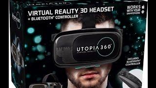 �������� ���� Setup Virtual Realty Headset Utopia 360 Degree ������
