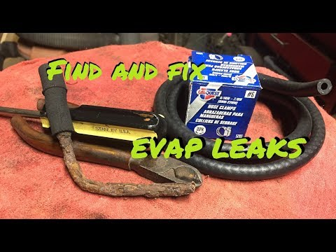 Jeep Wrangler TJ - EVAC repair - Trouble codes P0455, P0456
