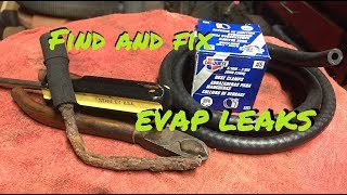 FIND/FIX EVAP LEAKS