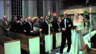 Fort Wayne Wedding Video 12-18-10 Bride Enters.mov