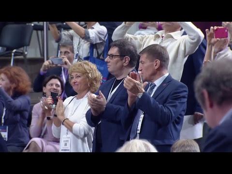 Смотреть фото Форум «Сообщество», Москва. Пленарная сессия «Национальные проекты: как обеспечить прорыв» новости россия москва
