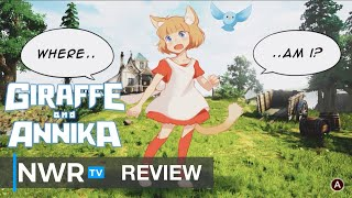 Giraffe and Annika (Switch) Review - Holding Hands and Long Necks on the Beach (Video Game Video Review)