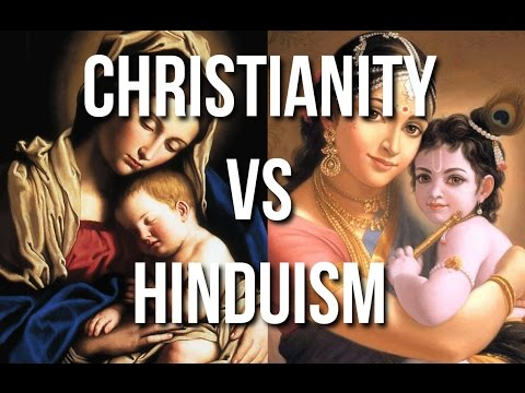 Christian Hindu Comparisons, One God Many Forms...