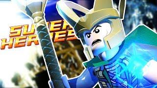 Lego Marvel Super Heroes | TO ASGARD! LOKI VS THOR!! | Lego Marvel Super Heroes Gameplay Part 6