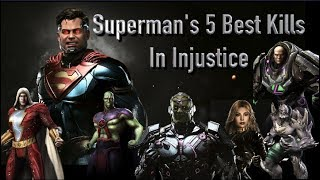 Superman's 5 Best Kills In Injustice